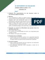 Diseño de Instrumento de Evaluacion Evidencia 4