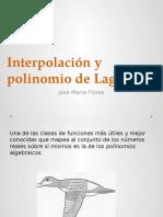 Interpolacion de Lagrange.pptx