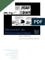 La postmodernidad es una tendencia social actual.doc