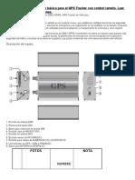 Manual gps tracker Tk-103a
