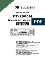 FT 2800M Spanish