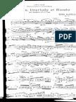 Henri Martelli - Cadence, Interlude Et Rondo Pour Saxophone-Alto Et Piano Op78 (Alto Saxophone & Piano)