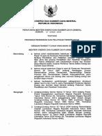 Permen Esdm 27 2009 Pedoman Diklat Terstruktur