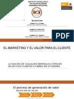 Marketing y dfdsfValor Para El Cliente