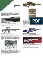 Cyberpunk Guns 3 Shotguns and Rifles