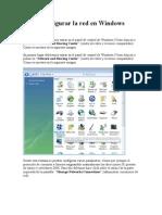 Cómo configurar la red en Windows Vista