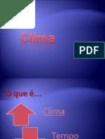 Aula 09 Climatologia