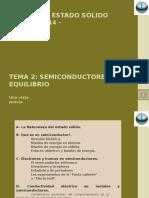 Tema 2 - Semiconductores en Equilibrio