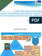Carmen Consuelo López (Uso de Las TIC Como Recurso Epistémico...)
