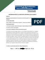 DETERMINACIÓN CONSTANTE R