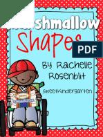 Free Marshmallow Shapes Shape Building