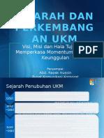 Sejarah & Perkembangan UKM-NOV 2011