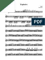 Explosive by Bond Violin 1