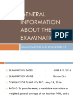Requirements for ENP Exam