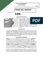 Ficha Informativa de Fenicia y Los Hebreos