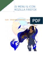 Fungsi Menu Bar Pada Mozila Firefox