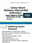 G-0967 Coronary Heart Disease, Myocardial Infarction, And Heart Failure, A Review of the Basics