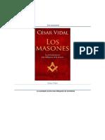 Los Masones La Sociedad Secreta Mas Influyente de La Historia Cesar Vidal