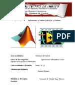 Aplicaciones en Matlab-LabVIEW y Wolfram
