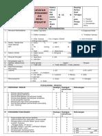 4- Check List Perioperatif (Catatan Keperawatan)