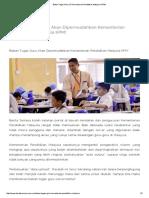 Beban Tugas Guru vs Kementerian Pendidikan Malaysia KPM!