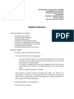 Analisis Estado Financiero Empresas