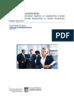 Women in Leadership Executive Summary Syeda Nuzhat E Ibrat April 2015