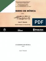 Cuaderno de Musica ESNAOLA
