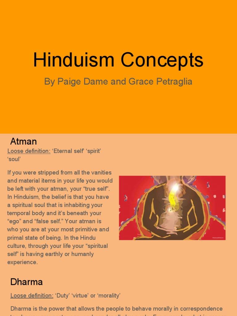 hinduism concepts | karma | reincarnation