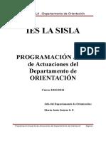 Programación psicología