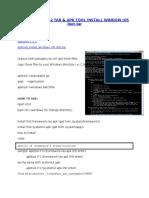 APKTOOLS 1.5.2 & Apk Tool Install Windows r05-Ibot