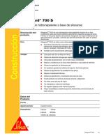 Sikaguard 700 S . manual de instrucciones