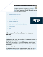 Access Mdb Acceso a Una Base de Datos Microsoft Access Desde Microsoft Word