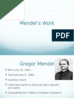 mendels work