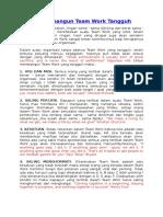 7 Cara Membangun Team Work Tangguh.doc