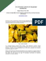Star Fruit Intoxication in Uraemic Patient1