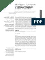Efectividad De Las Tecnicas De Preservacion Alveolar