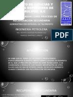 Inyección de Agua Como Proceso de Recuperación Secundaria