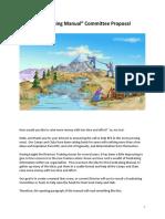 fundrasing manual committee proposal
