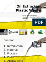 Crude Oil Extraction From Waste Plastic