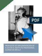 Trabajo Telefonía IP - H323