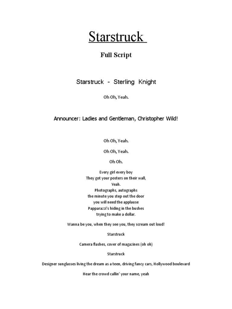 Star Struck Full Movie Script | Leisure