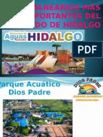 Balnearios Más Importantes Del Estado de Hidalgo
