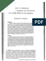 EstadoEIndigenasDuranteLaEpidemiaDeInfluenzaDe1918 1919 Guatemala