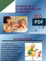 Trastornos Alimentarios en La Infancia1