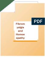 Fibromyalgia and Homoeopathy