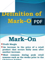 Definition of Mark–On.ppt