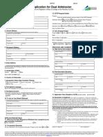 UofL Dual Admission Application