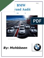 bmw brand audit mkt