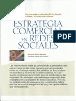 Estrategias comerciales en las redes sociales.